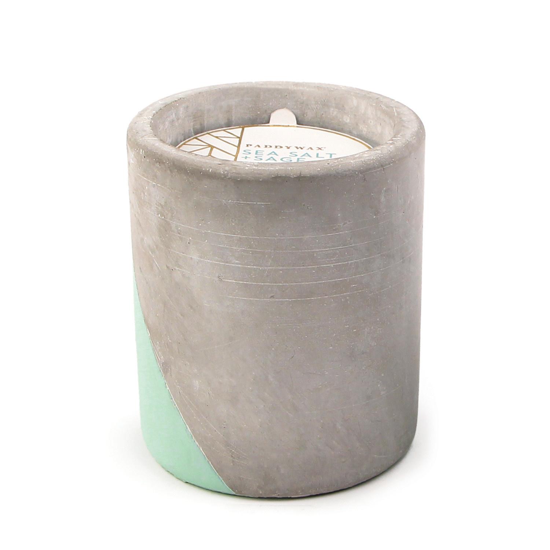 Paddywax Urban Concrete 12oz. Pot