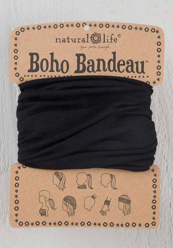 Natural Life Solid Boho Bandeau