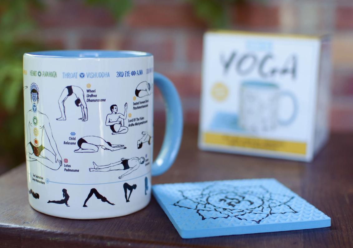 Unemployed Philosophers Guild How To: Yoga Mug
