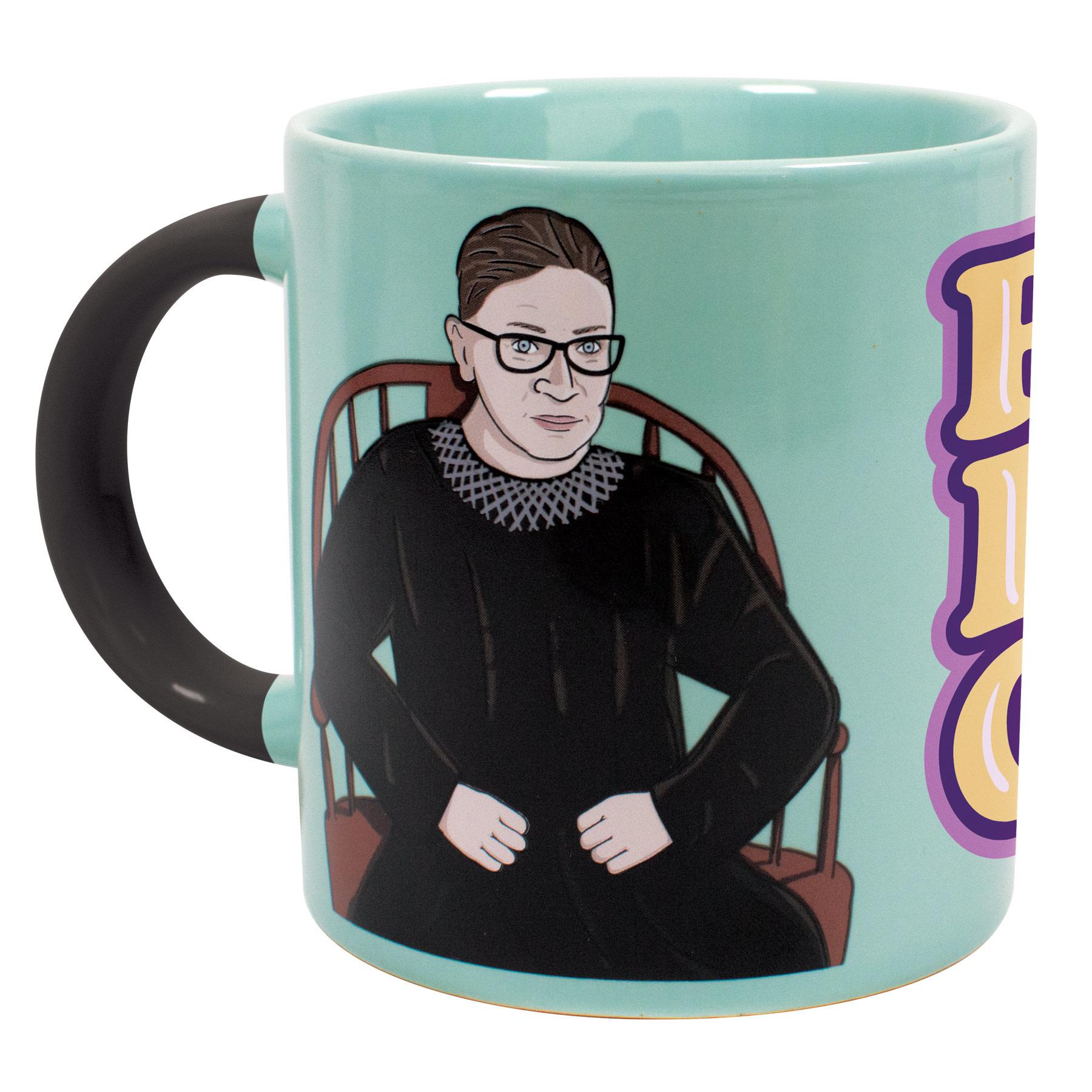 Unemployed Philosophers Guild Ruth Bader Ginsburg Transforming Mug