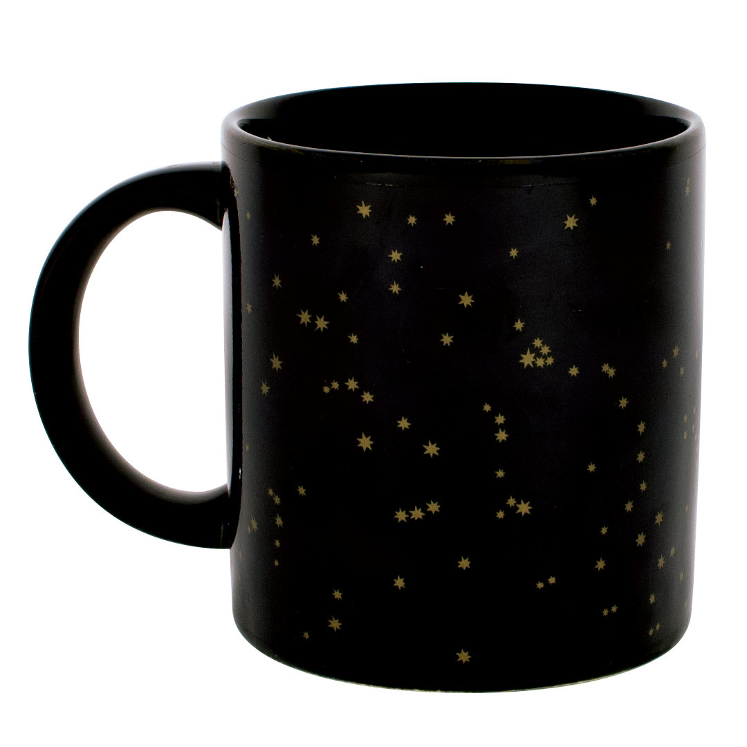 Unemployed Philosophers Guild Golden Constellations Mug