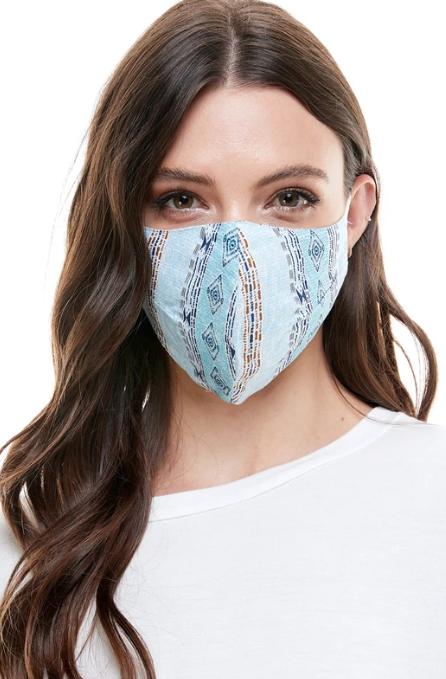 faire Reversible Woven Face Mask