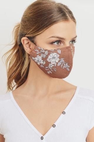 PAPER CRANE/LOVEMARKS Printed Adjustable Elastic Mask- Filter Insert