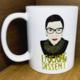 Citizen Ruth I Fucking Dissent RBG  Mug