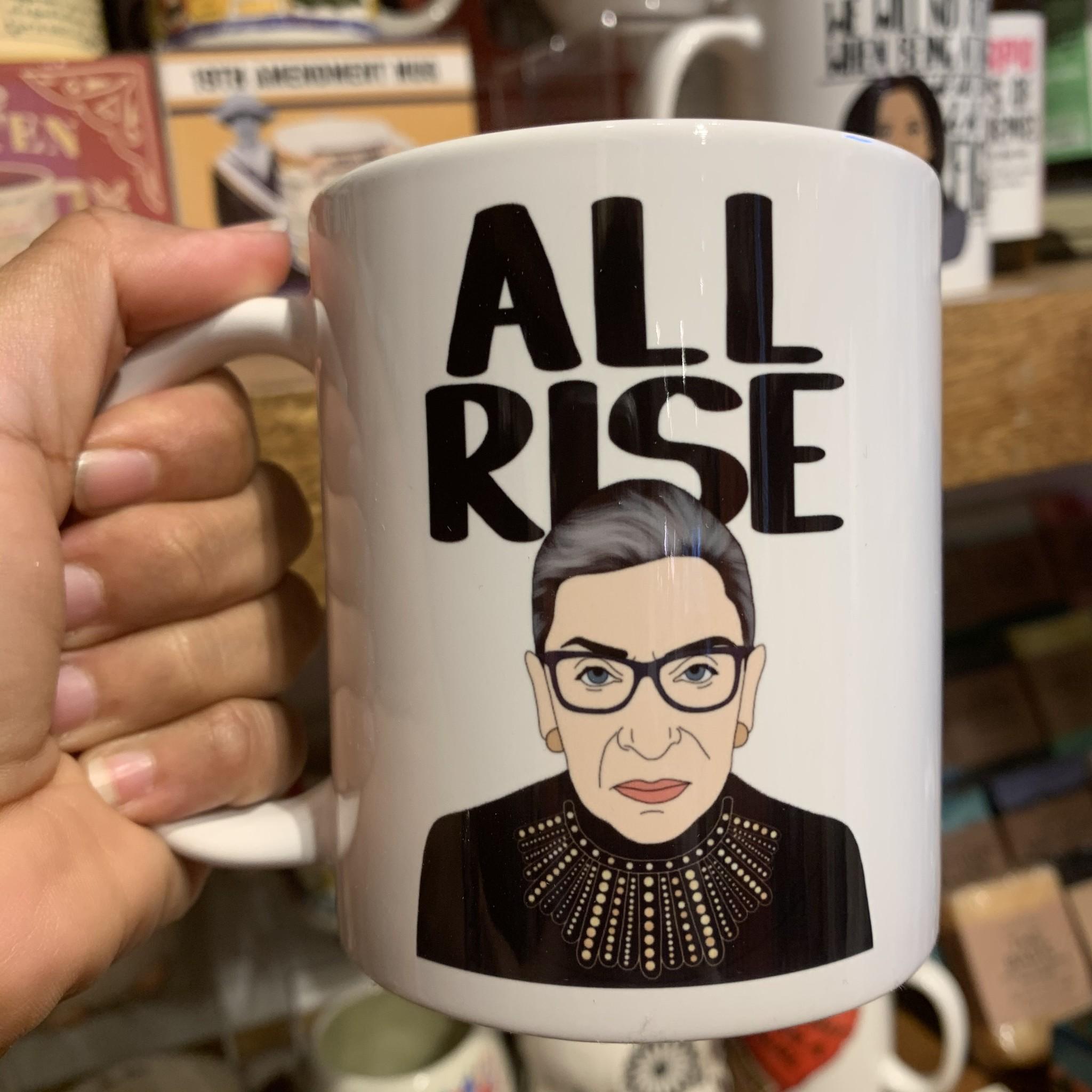 Citizen Ruth RBG All Rise Mug