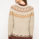 Mystree Ethnic Texture Pullover