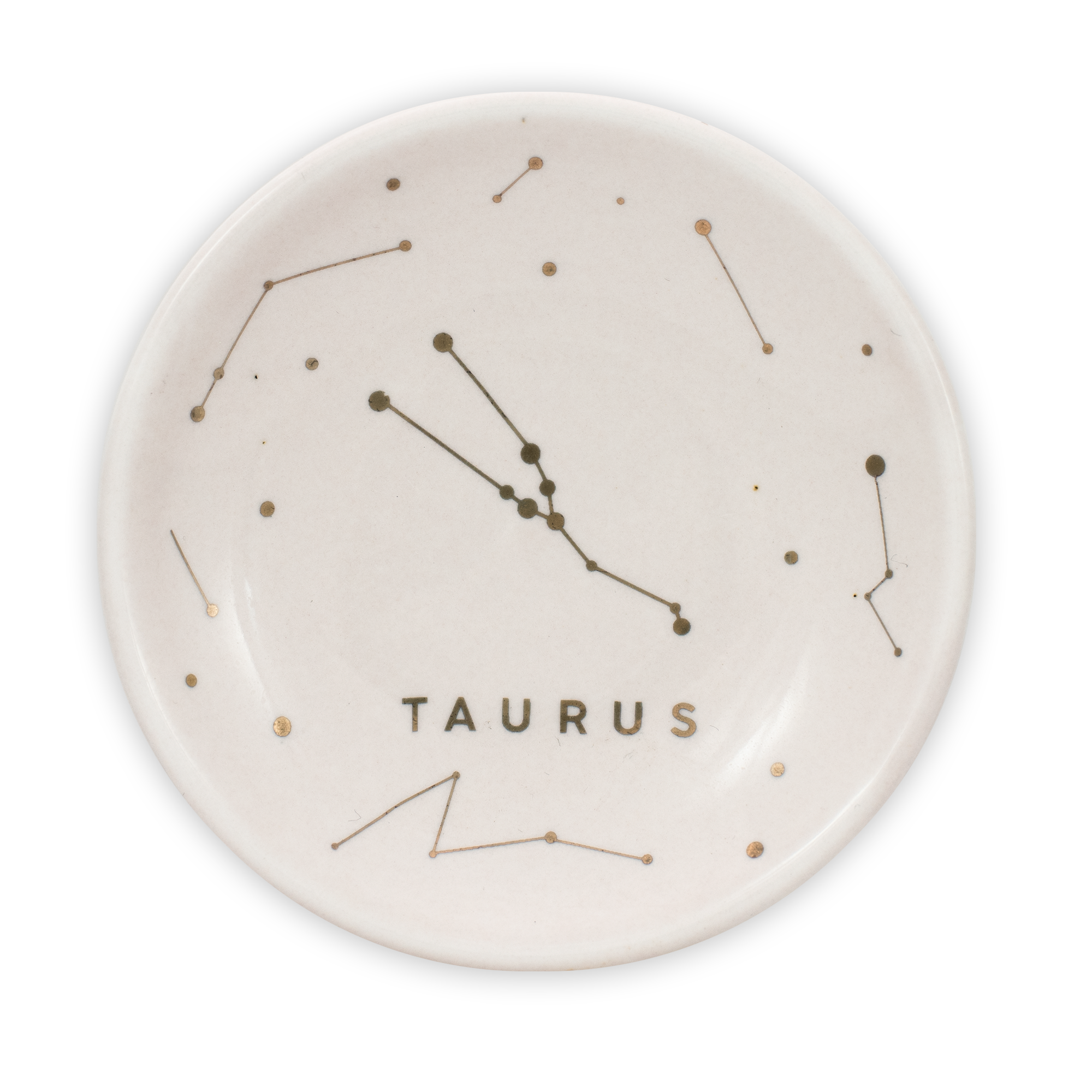 Lucky Feather Zodiac Constellation Trinket Dish