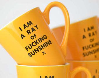 Meriwether A Ray of Sunshine Ceramic 16oz. Mug