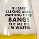 Meriwether Bangs Wine Glass