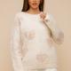 Hem & Thread Multi Heart Sweater