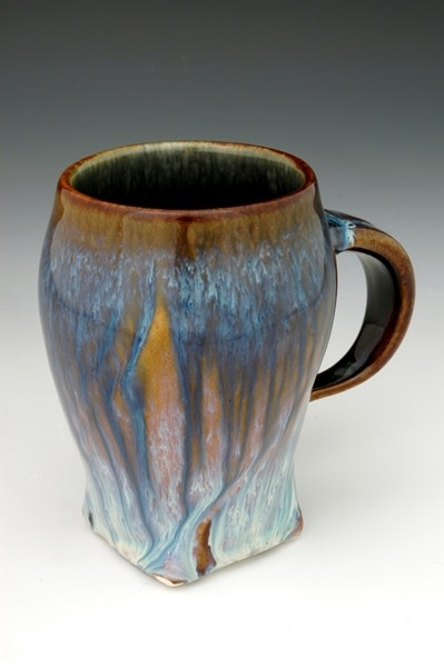 BILL CAMPBELL Small Carved Mug