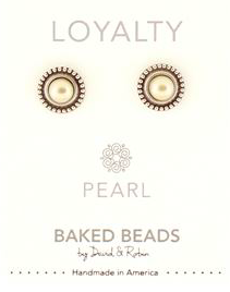 Baked Beads Power Natural Stone Post