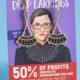 Dissent Pins Gold Dissent Collar Drop Earrings
