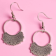 Dissent Pins Dissent Collar Hook and Hoop Earring Silver