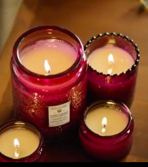 Voluspa Santiago Huckleberry Candle