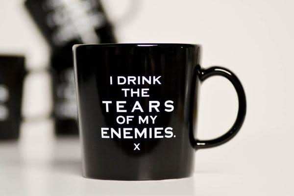 Meriwether I Drink the Tears of my Enemies 16oz Mug