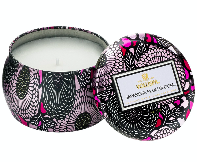 Voluspa Japanese Plum Bloom Candle