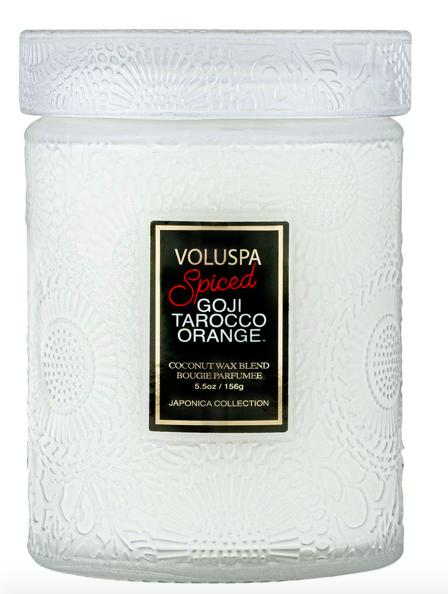 Voluspa Spiced Goji Tarocco Orange