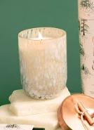 Paddywax Cypress Fir Holiday 7oz. White Cheena Glass