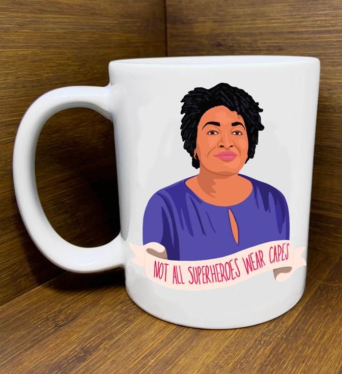 Citizen Ruth Stacey Abrams Superhero  Mug