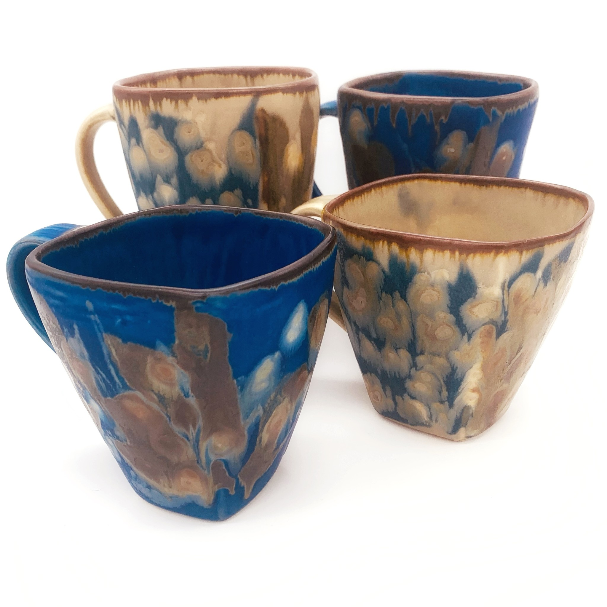 BUTTERFIELD POTTERY Square Mug