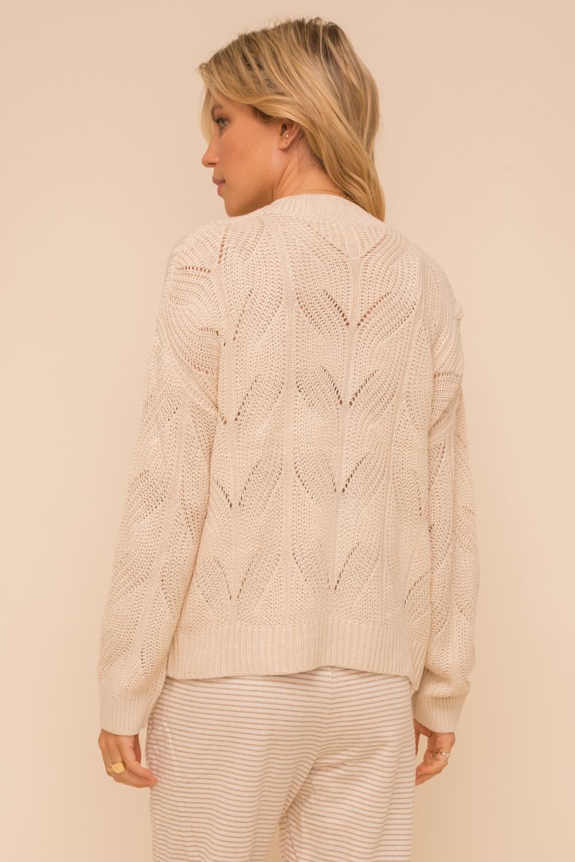 Hem & Thread Textured Cardigan