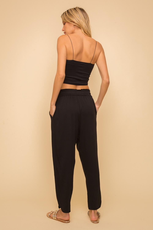 Hem & Thread Drawstring Trousers