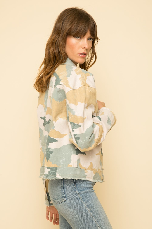Mystree Pastel Camo Jacket