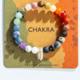 GEOCENTRAL Chakra Bracelet w/ Crystal