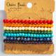 GEOCENTRAL 6MM Chakra Bracelet Pack