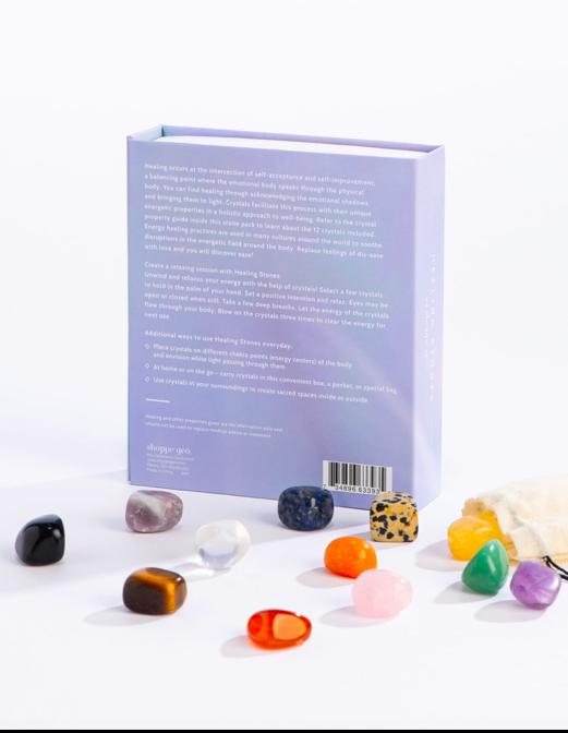 GEOCENTRAL Healing Stone Kit