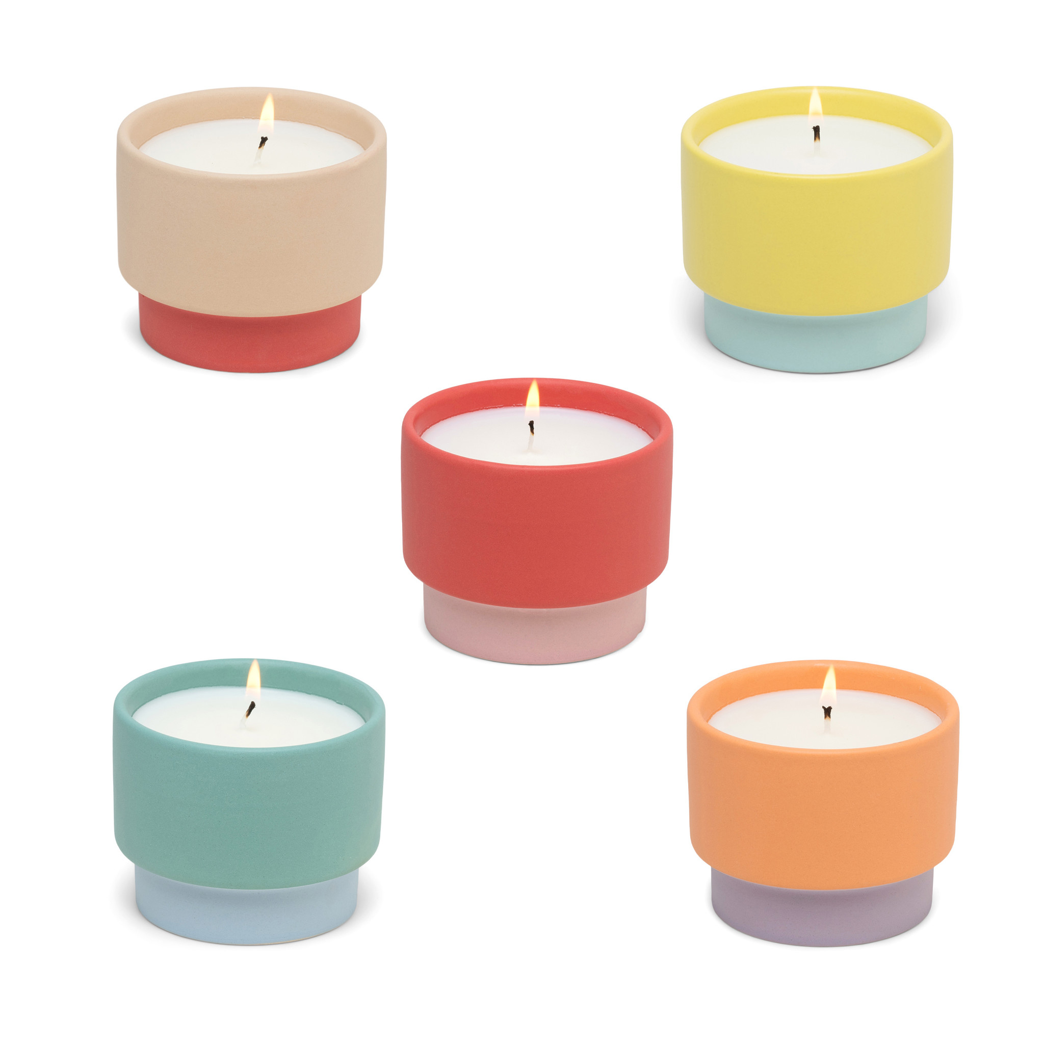 Paddywax Color Block 6 Oz Candle