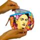 Lumily Frida Kahlo Printed Coin Purse