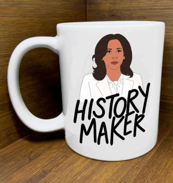 """Citizen Ruth Kamala """"History Maker"""" Mug"""