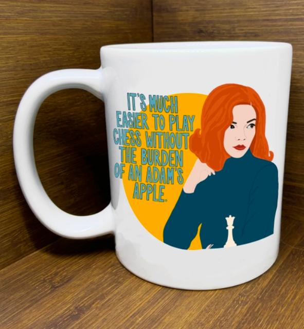 Citizen Ruth Queen's Gambit Mug