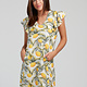 sm wardrobe Lemon Print Dress