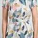 sm wardrobe Multi Leaf Dress
