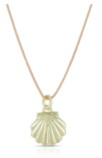 Lucky Feather Ocean Life Necklace