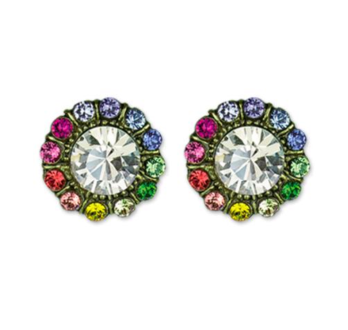 Anne Koplik Designs Rainbow Crystal Studs -GWRCS