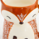Natural Life Francis The Fox Folk Art Mug