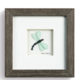 """Demdaco Of Life and Dragonflies Wall Decor 6"""" sq"""