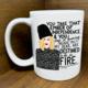 "Citizen Ruth Moira ""Ember of Independence"" Mug"