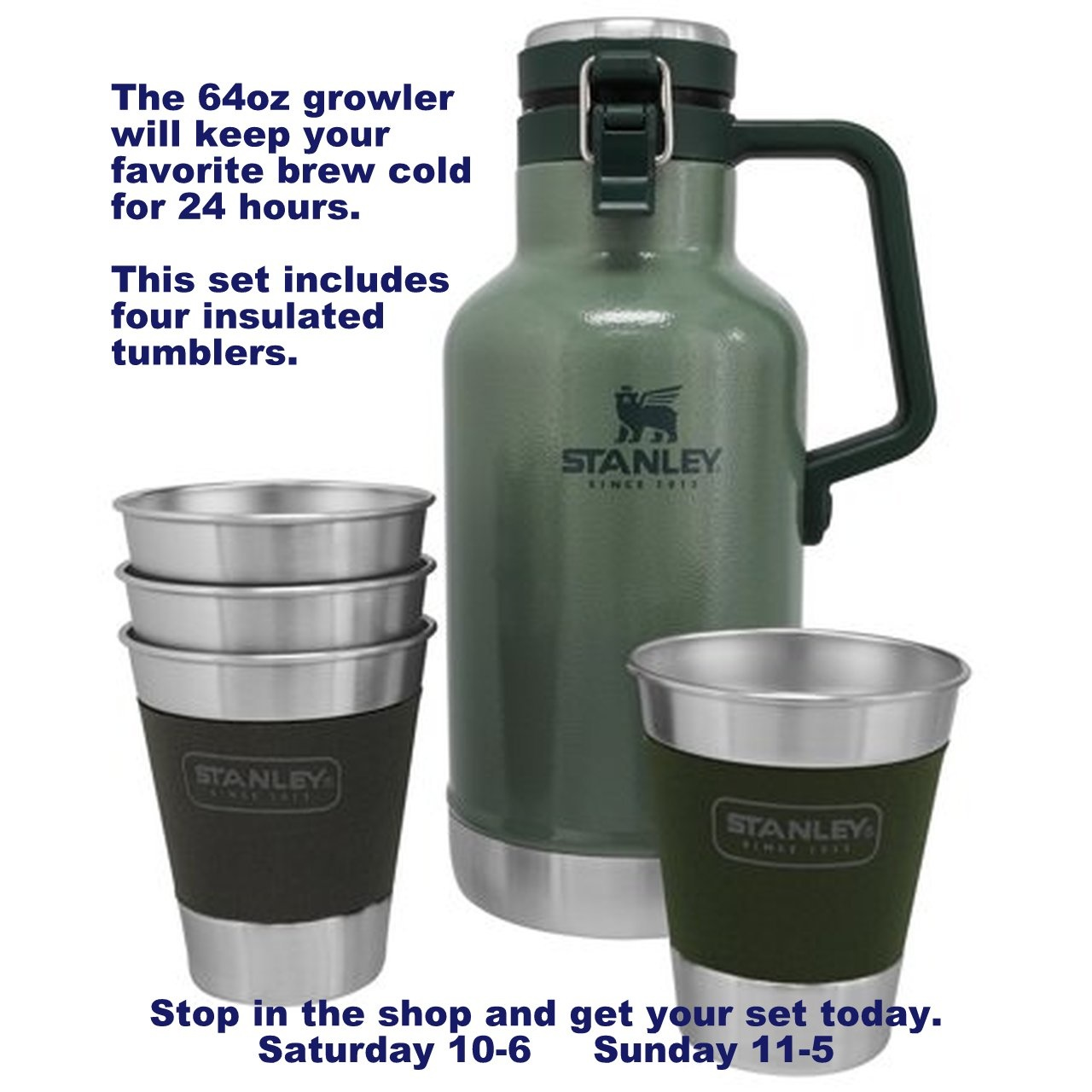 Stanley Growler Gift Set