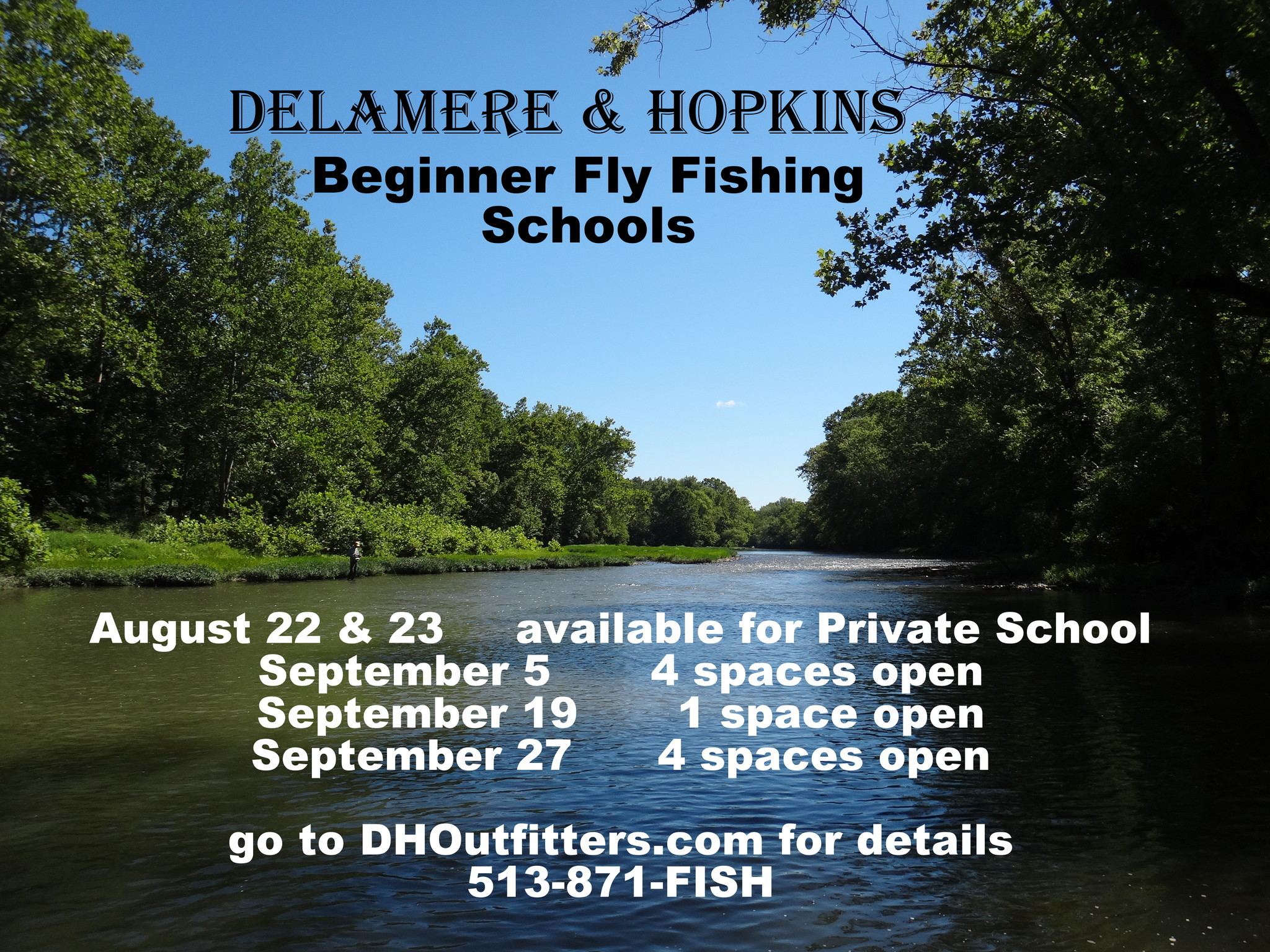 learn how to fly fish this weekend!