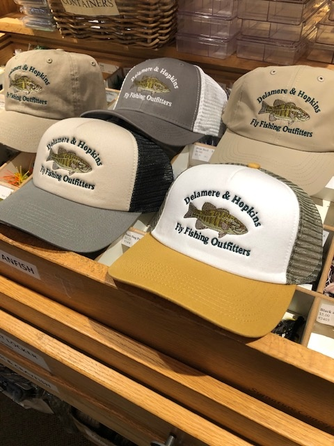 new smallmouth bass hats have arrived