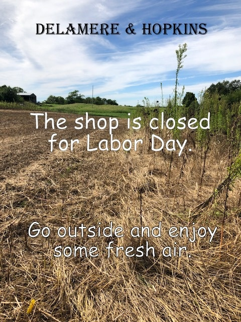 the shop is closed today for Labor Day