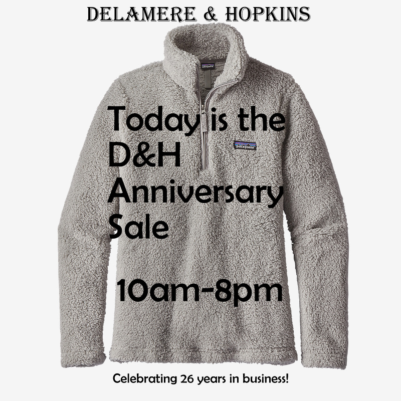Anniversary Sale is TODAY!