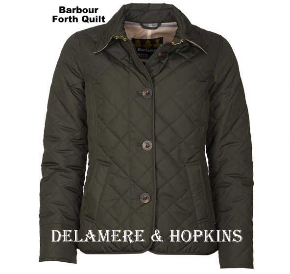 new Barbour quilt for ladies just arrived