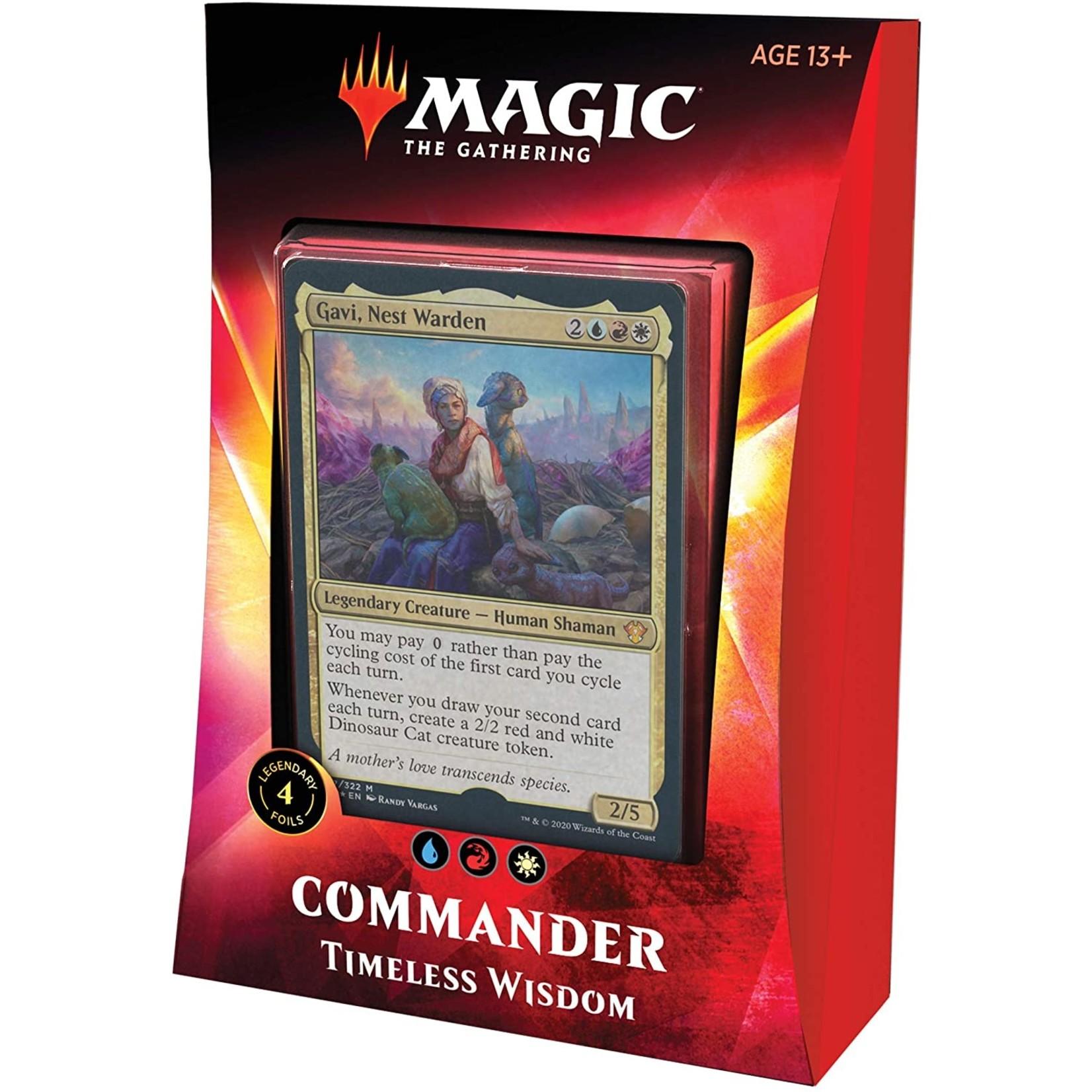 Wizards of the Coast Ikoria Commander 2020 Timeless Wisdom