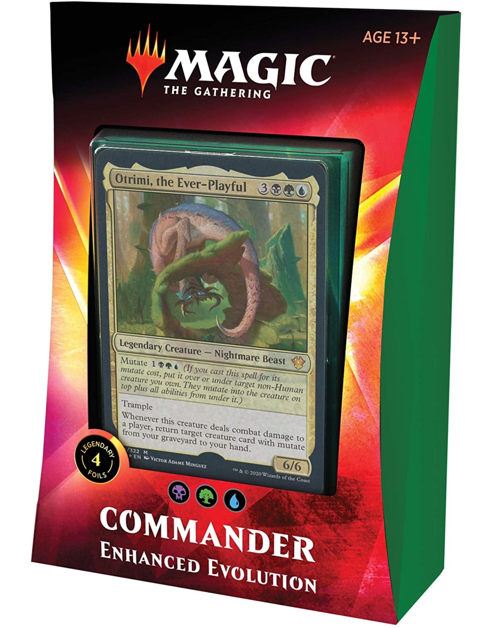 Wizards of the Coast Commander 2020 Enhanced Evolution